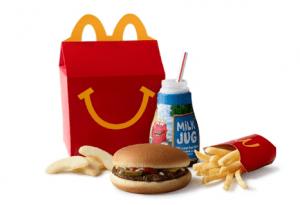 McDonald's merupakan contoh packing prdoduk yang menarik