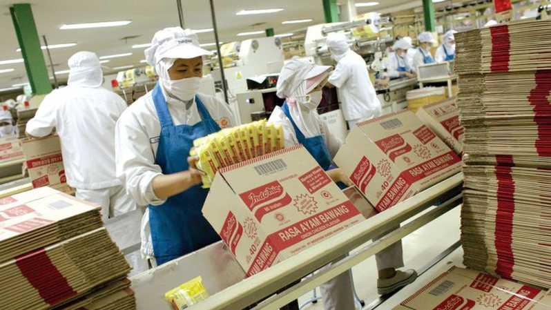 Perusahaan Distributor Terbesar Satu Indofood Indomie Pabrik