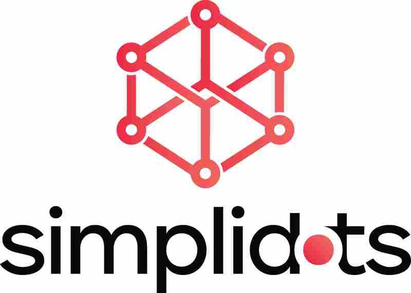 SimpliDOTS Logo Name Square Color