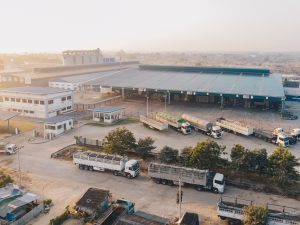 manajemen logistik di sebuah pabrik