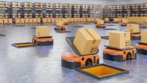 army robots efficiently sorting hundreds parcels per hour automated guided vehicle agv 41470 1630