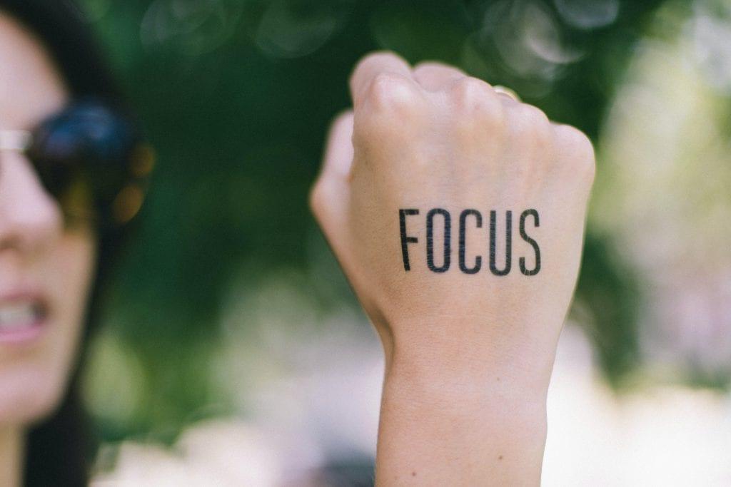 Focus merupakan salah satu Strategi Tim sales