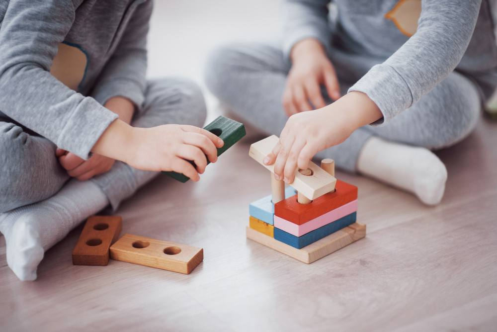 mainan anak-anak contoh stategi push pull