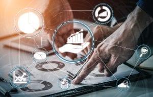 data analysis business finance concept 1