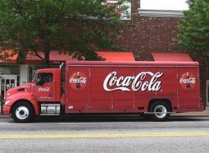 distribusi coca cola