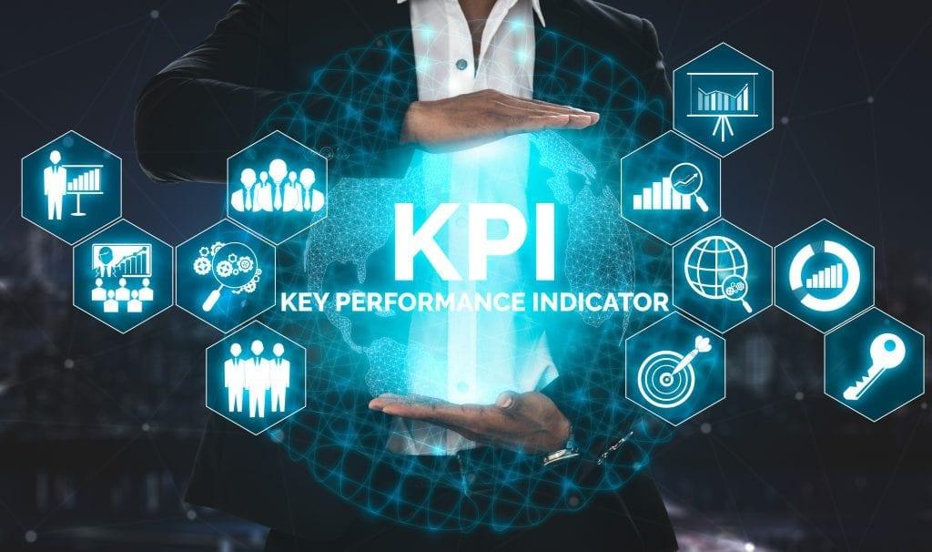 kpi key performance indicator business concept