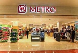 department store Metro sebagai contoh ritel kelompok usaha