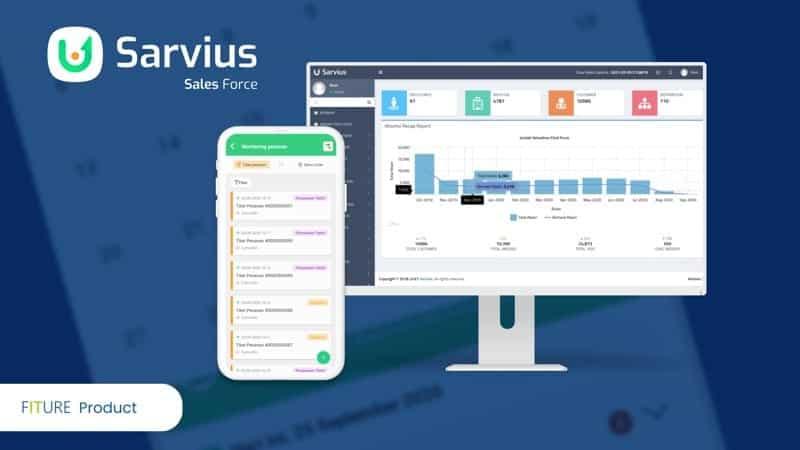 sarvius aplikasi sales force automation