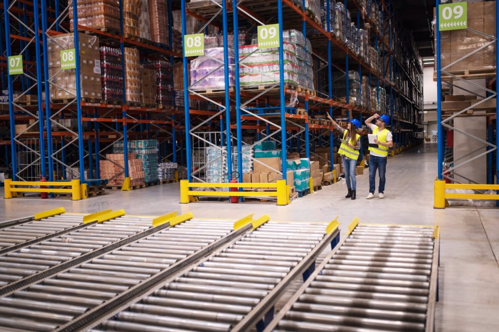 warehouse for management inventory control