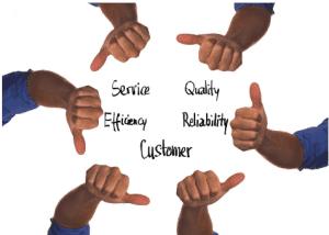 untuk teknik promosi B2B sangat diperlukan customer service yang berkualitas